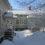 Räystäiden lumi ja jää